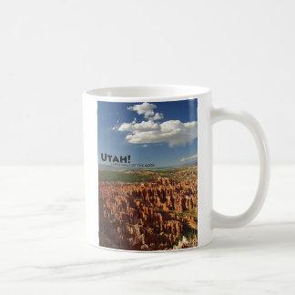 Utah Basic White Mug