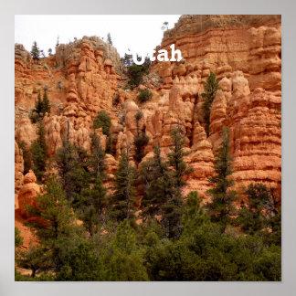 Utah Landscape Poster