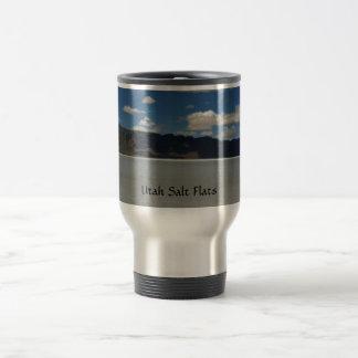 Utah Salt Flats Landscape Travel Mug