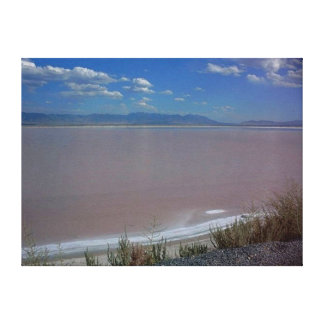 Utah Salt Flats Photo Canvas Print