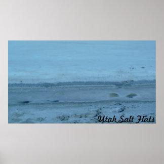 Utah Salt Flats Poster