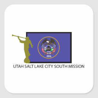UTAH SALT LAKE CITY SOUTH MISSION LDS CTR STICKERS