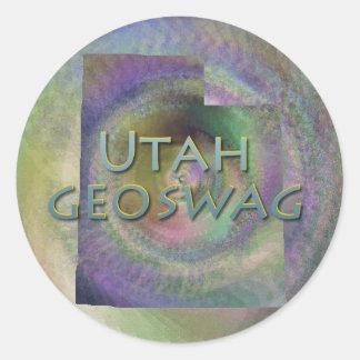 Utah State Geocaching Supplies Stickers Geoswag