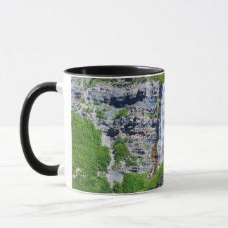 Utah Waterfall #1b- Mug (choose size & style)