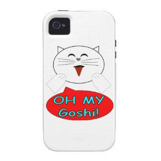 "Utaku Cat ""Oh my goshi"" iPhone 4 Cover"