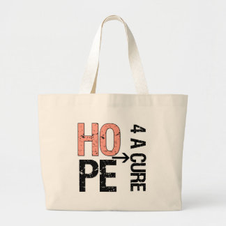 Uterine Cancer Hope For a Cure.png Jumbo Tote Bag