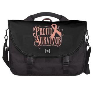 Uterine Cancer Proud Survivor Bags For Laptop