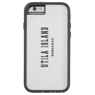 Utila Island Honduras Tough Xtreme iPhone 6 Case