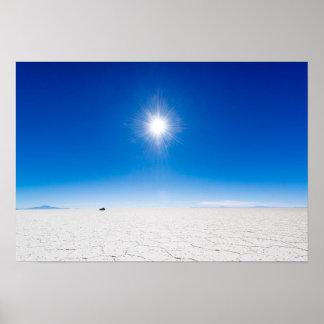 Uyuni Salt Flats Poster