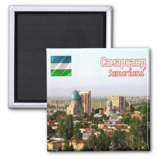 UZ - Uzbekistan - Samarkand - Panorama Magnet