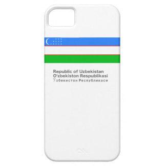 Uzbekistan iCase Barely There iPhone 5 Case