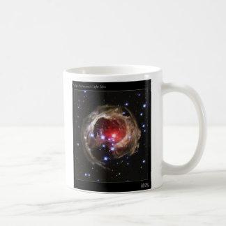V838 Monocerotis Light Echo Basic White Mug
