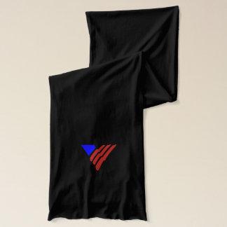 V scarf black
