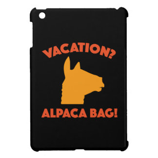 Vacation? Alpaca Bag! iPad Mini Case