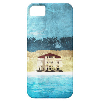 Vacation Basic Round Keychain iPhone 5 Covers