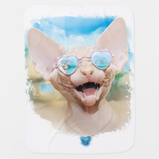 Vacation dating| (Sphinx in sunglasses) Buggy Blanket