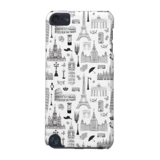 Vacation In Europe Pattern iPod Touch 5G Cover
