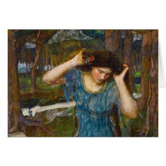 Vain Lamorna Study for Lamia by Waterhouse Card