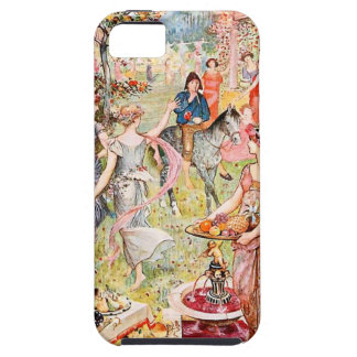 Vale of Pleasure Illustrated iPhone 5 Covers