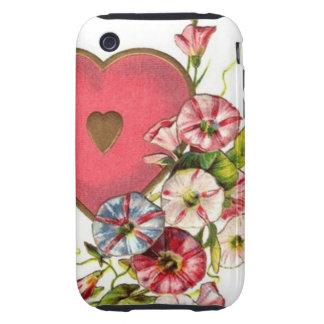 Valentine Flowers iPhone 3 Tough Cases