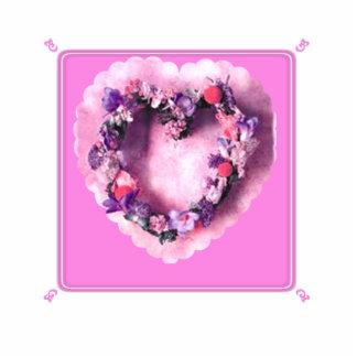 Valentine Heart Standing Photo Sculpture