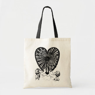 Valentine Heart With  Cupid's (For Valentines Day) Bags