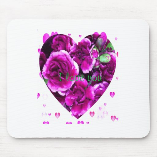 Valentine i love you mousepad