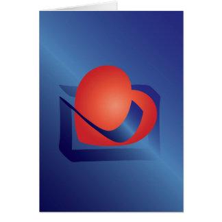 Valentine letter card