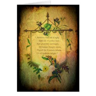 Valentine Loveletter Greeting Card