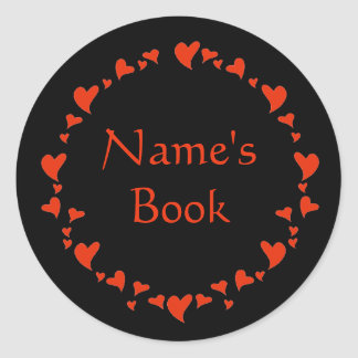 Valentine Round Sticker