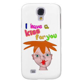 Valentine's Day funny kiss 3G/3GS Cas Galaxy S4 Case