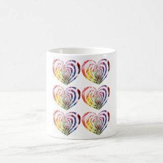 Valentine's Day Modern HeART mug! Coffee Mug