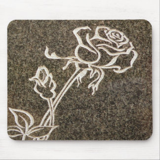 Valentine's Day Rose Mousepad