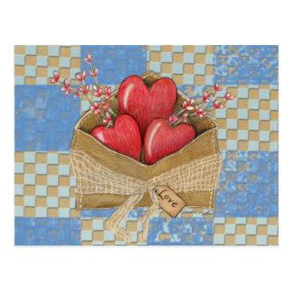 Valentine s Envelope Postcard
