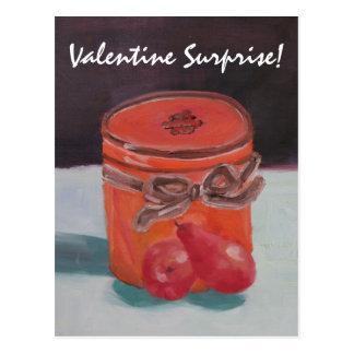 Valentine Surprise! Postcard