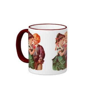 Valentine Vintage Lover's Coffee Mug