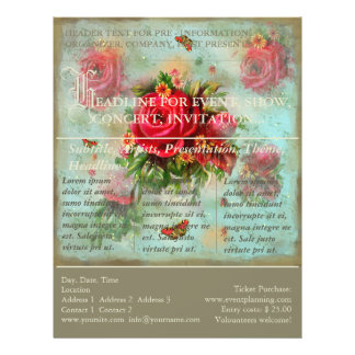 Valentines And Roses - Event Flyer