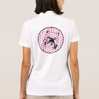 Valentines - Brussels Griffon Silhouette Polo Shirt