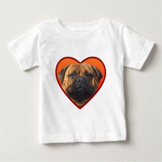 Valentine's bullmastiff baby T-Shirt