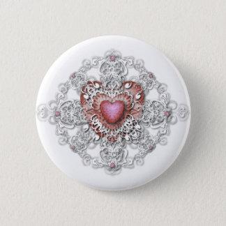 Valentine's Day 6 Cm Round Badge