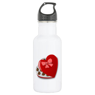 Valentine's Day Box of Chocolates 532 Ml Water Bottle