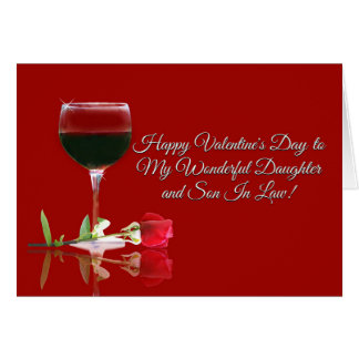 Son daughter cards invitations zazzle valentine39s day card for daughter and son m4hsunfo