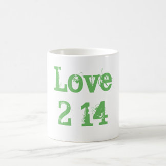 Valentine's Day Classic Love Mug 2-14 Paris Green