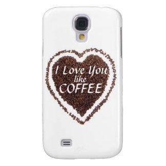 Valentine's Day Coffee Love 3G/3GS  Galaxy S4 Case