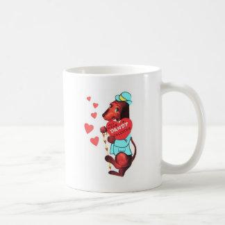 Valentine's Day Dachshund Coffee Mug