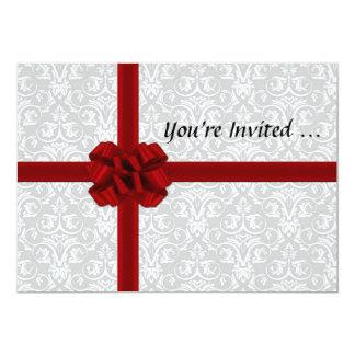 Valentine's Day Gift Box Card Invites