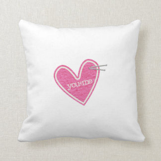 Valentine's Day Heart Pillow
