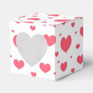 Valentine's Day hearts Favour Box