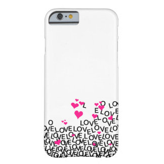 Valentine's Day Love iPhone 6 case Barely There iPhone 6 Case
