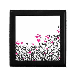 Valentine's Day Love Square Tile Gift Box